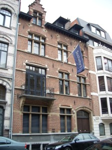 Sotheby's office in Brussels.