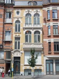 House built 1914-1915 in Avenue Chazal Schaerbeek