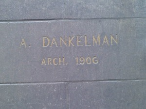 House by architect A. Dankelman (1906)